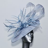 Ice blue Mother of the Bride couture hatinator 16477/SD297